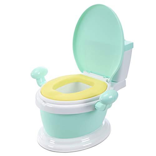LIU UK Portable Toilet EntraîNement à La Propreté GarçOns Filles Design Ultra Stable Amusement De Toilette BéBé Voyage Amusant BéBé Convertisseur De PièCes Amovibles Facile à Nettoyer 1-3-6 Ans