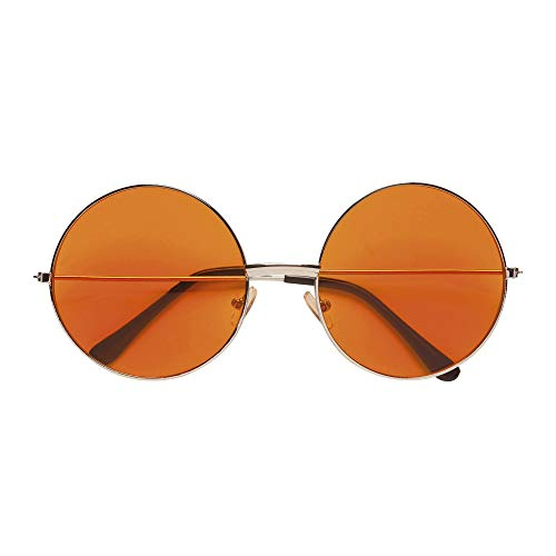 Widmann 68629 Brille, unisex-adult, Orange, One Size