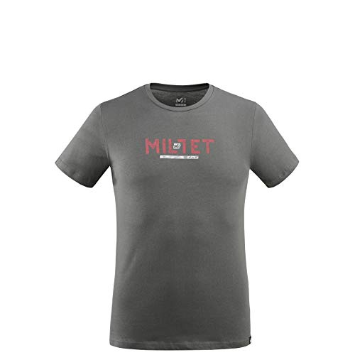 MILLET - Tee Shirt Tape Logo TS SS M Urban Chic Homme - Homme - Taille XS - Gris