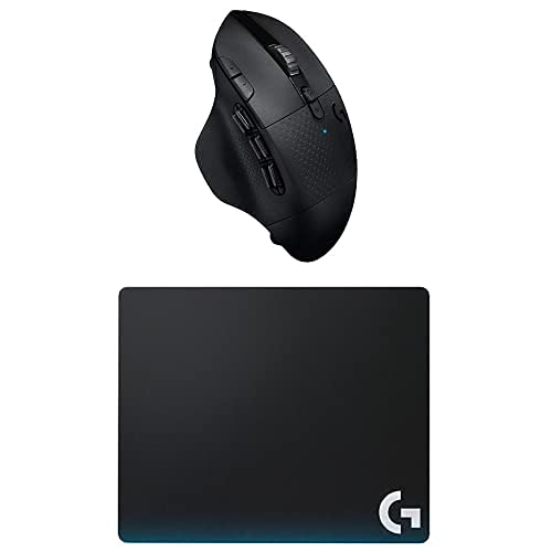 Logitech G604 Lightspeed Wireless Gaming Mouse Bundle with Logitech G440 Hard Gaming Mouse Pad for High DPI Gaming