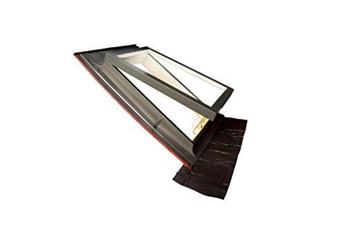 Lucernario - finestra per tetto orizzontale modello Tecno in alluminio – Art. 256O – TECNOMETAL