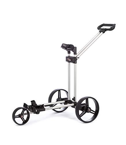 FLATCAT - Carrito de golf eléctrico Gear Silver plegable de aluminio anodizado y fibra de vidrio, batería de litio 27 –...
