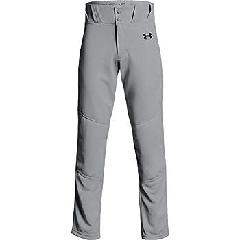 Under Armour Boys  Utility Relaxed Baseball Pants  Baseball Gray  080 /Black  Youth Large