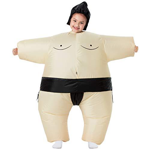 YEAHBEER Inflatable Costume Sumo Blow Up Costume Halloween Cosplay Costumes...