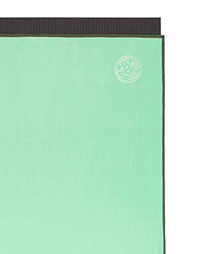 Manduka eQua - Toalla de mano, color verde ceniza, talla única