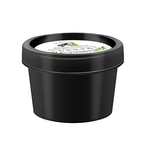 Polvo para blanquear los dientes Limpieza de la higiene de la cavidad oral Eliminar café Manchas de té Producto dental Dentífrico Halitosis antibacteriana - Negro