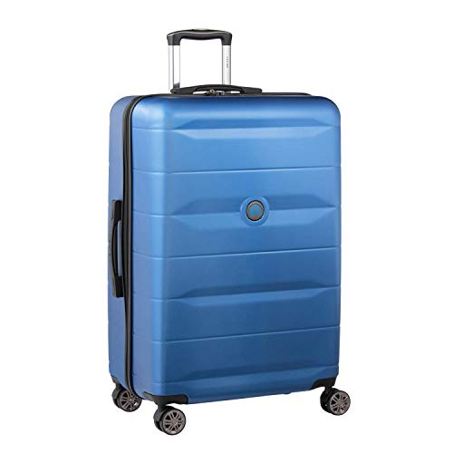 Delsey デルセー スーツケース 機内持ち込み Sサイズ 小型 キャリーケース Mサイズ中型/Lサイズ大型 ABS&PC素材 超軽量 TSAロック搭載 COMETE 107L&ブルー