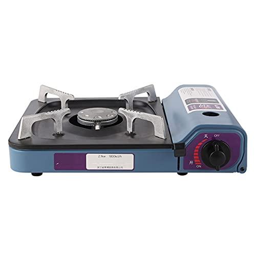 NXYJD YYLHWCHJU 2100W Estufas portátiles Infrarrojos Mini Cassette Parrilla Cocina cocinera para al Aire Libre Camping Picnic butano Estufa de Gas Horno Quemador