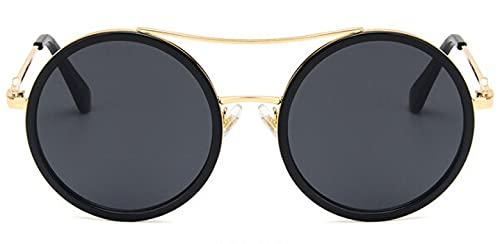 Gafas De Solgafas DeSol Redondas DeColor Verde Rojo paraMujer, Gafas De Sol De Diseñador De Marca, Gafas Ópticas para Mujer, Anteojos para Mujer,