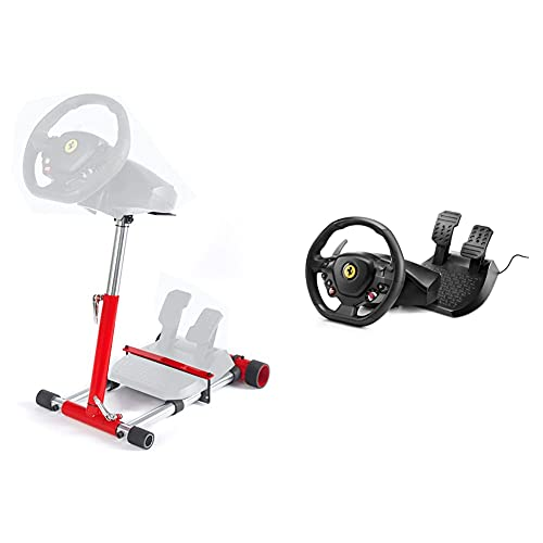 Wheel Stand Pro, Soporte de Volante y Pedal para Thrustmaster Spider, T80 / T100 + Thrustmaster T80 Ferrari 488 GTB...