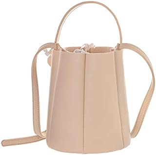 Miniso Crossbody Bucket Bag (Apricot)
