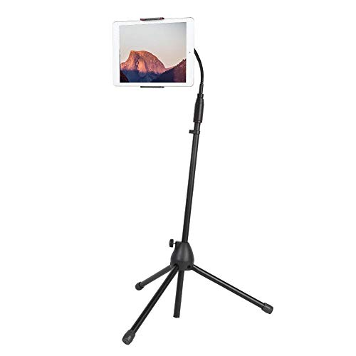 GOTOTOP Universal Tablet, Holder Stand Tripod Adjustable Telescopic Stand for Various types iPad and other Tablets 4-10.5 Inch