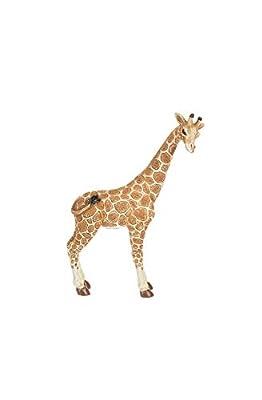 Gnz 6 Inch Tall Polystone Standing Giraffe Figurine