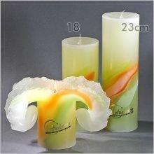 Lotus-Kerzen ART Spring, 18cm