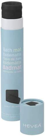 HEVEA Bath Mat Charcoal black