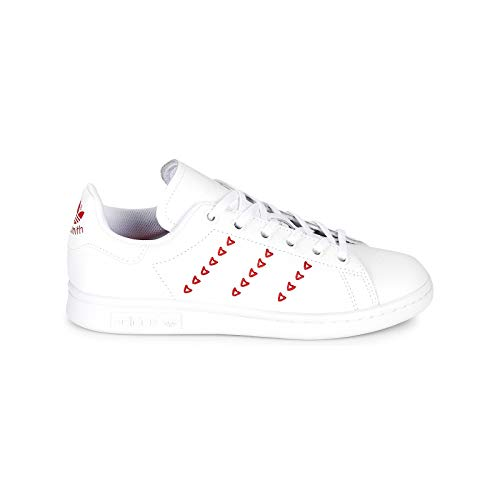 adidas Stan Smith J, Zapatillas de Gimnasia Unisex Niño, Blanco (blanco), 40 EU