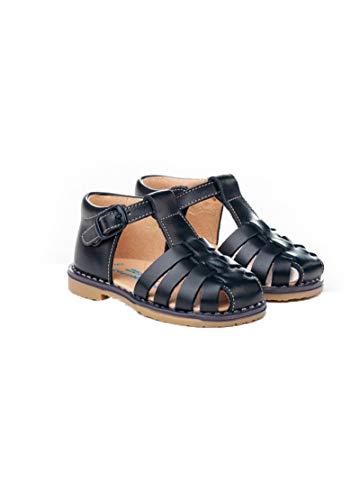 Sandalia Talón Alto Tiras AngelitoS Referencia ANG-539,calzado nacional 100% piel,primera calzadura (camel, numeric_18)