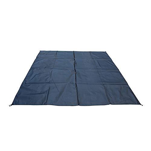 HUI JIN Estera de picnic al aire libre Toallas de playa Protección solar impermeable anti arena portátil plegable negro
