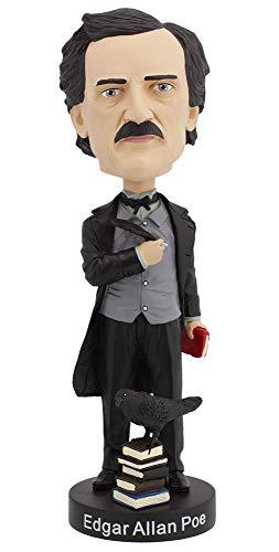 Royal Bobbles - Muñeco cabezón de Edgar Allan PoE