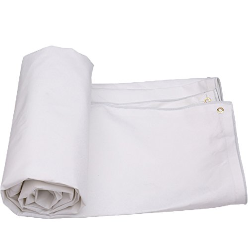 Yxsd zonnekap dekzeil dubbelzijdig waterdicht vochtbestendig siliconen materiaal kan doen hangmat picknick mat stofdichte cover regendoek 5 * 6m