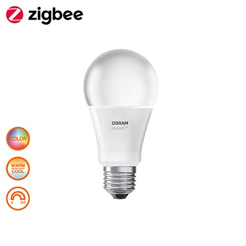 Osram Smart+ Color Kit, Interruttore Portatile Switch Mini Bianco con Lampadina LED...