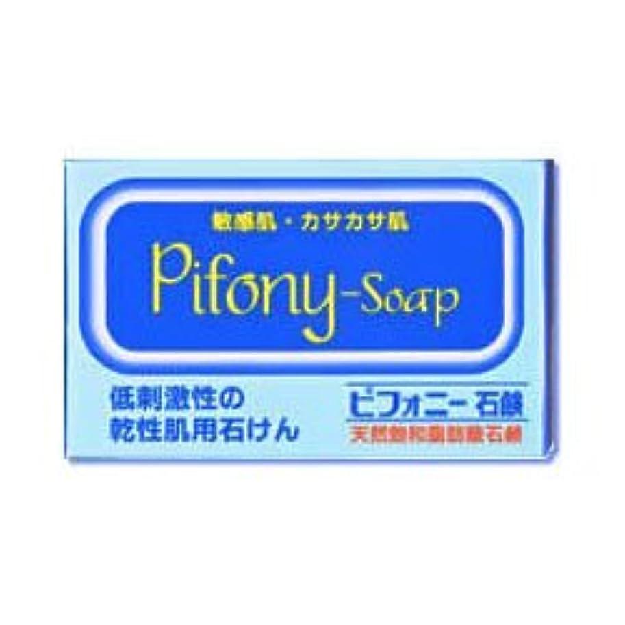 お金鎮痛剤知性【ノーエチ薬品】ピフォニー石鹸 100g ×3個セット