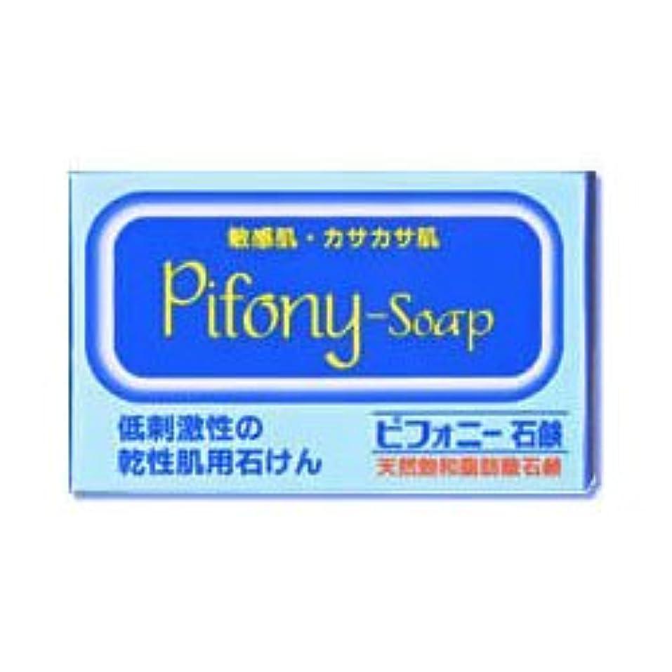 引用プレフィックスこんにちは【ノーエチ薬品】ピフォニー石鹸 100g ×3個セット