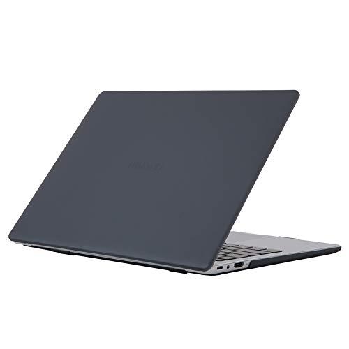 YGoal Hülle Kompatibel mit Huawei MateBook D15, Kunststoff mattierte Hart Hülle mit Tastatur Skin Abdeckung für Huawei MateBook D15 15.6 Zoll 2020 / Honor MagicBook 15 (Schwarz)