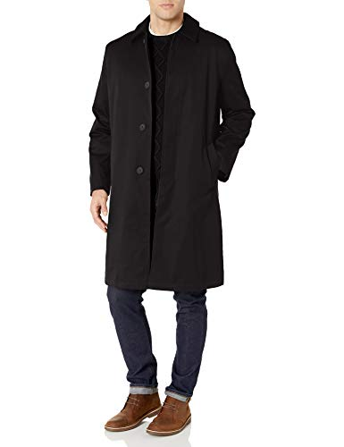 Hart Schaffner Marx Men's Raincoat, Black, 40R