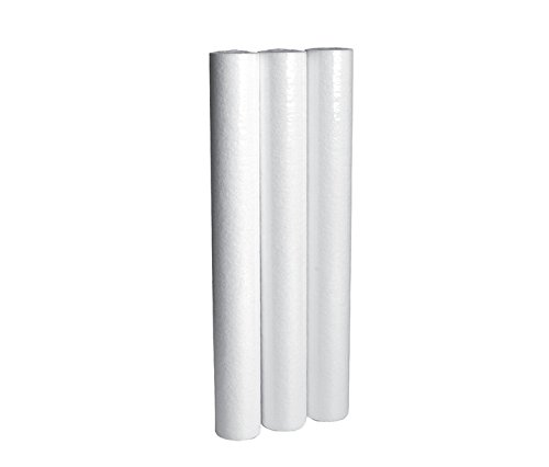 LifeSource Water Systems - 5 Micron Home Sediment Water Filter Cartridges - Replacement Cartridges - 20' Height x 2.5' Width (6 Pack)