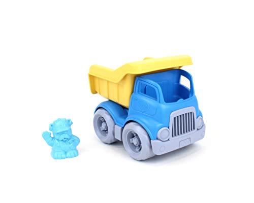Green Toys Dumper Truck avec Coffre à lit Ouvert Classique et Figurine