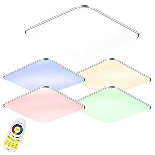 24W LED RGB Ultraslim moderna del soffitto della luce della lampada a soffitto Camera da letto Cucina Corridoio Soggiorno lampada
