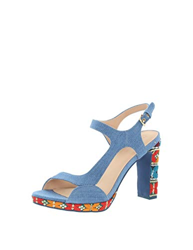 Desigual - Sandales Marylin ref_45572 5006 Jeans - 40