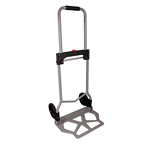 iWork Carretilla Plegable con Capacidad de Transportar Cargas de hasta 80 kg