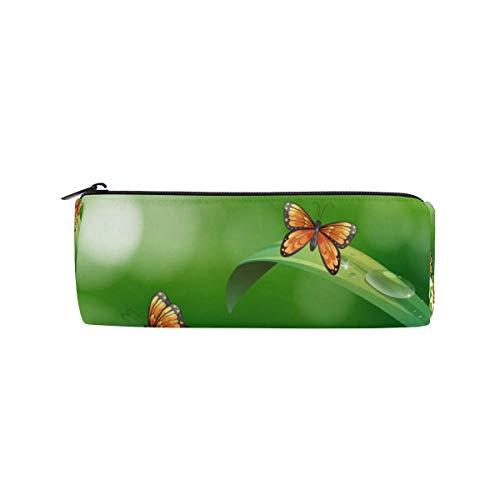 Schmetterlinge fliegender Bleistift Fall Büro Bleistifthalter Beutel Tasche Stift Bleistift Briefpapier Kosmetiktasche