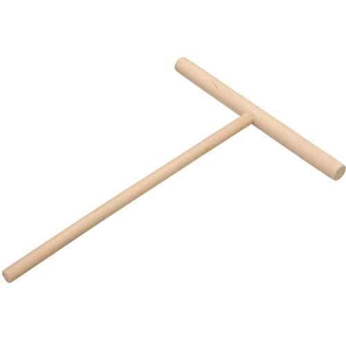 Diamoen 3pcs Forma esparcidor palillo de Madera T Antiadherente sartén para Hacer tortas bateador esparcidor Crepe Fabricante