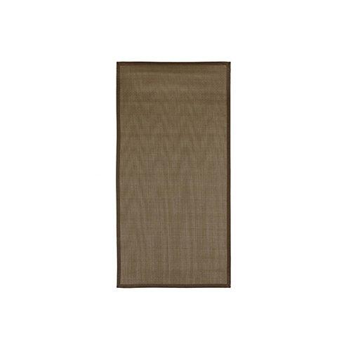De'Carpet Alfombra Cocina Lavable Antideslizante Metálica Limpiar Fácil con Fregona (Negro, 110)