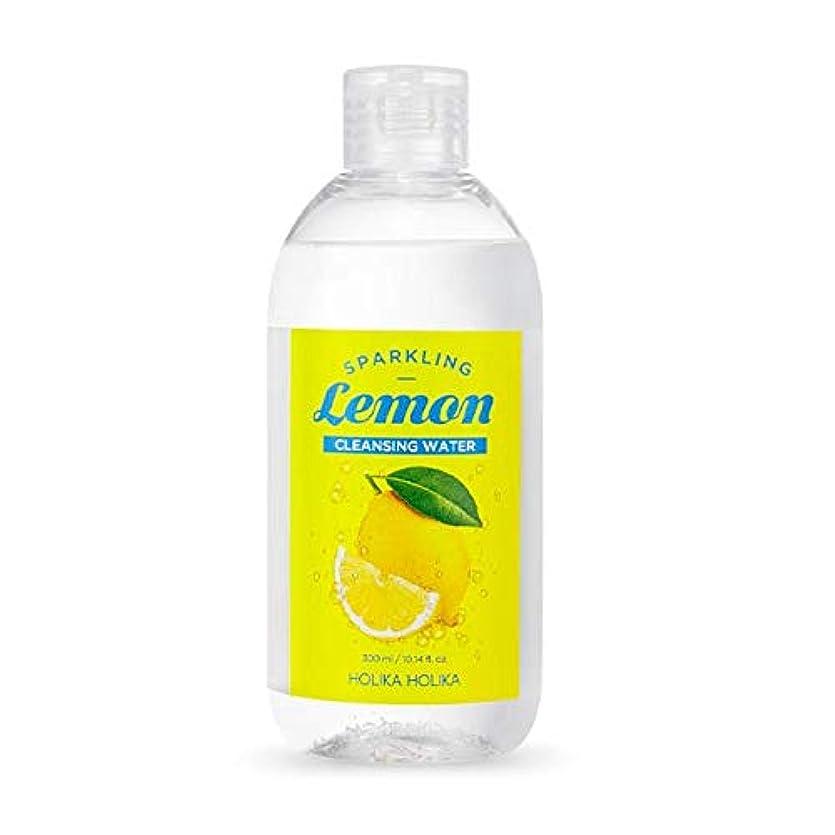 丁寧四面体暫定のホリカホリカ 炭酸レモンクレンジングウォーター 300ml / Holika Holika Sparkling Lemon Cleansing Water 300ml [並行輸入品]