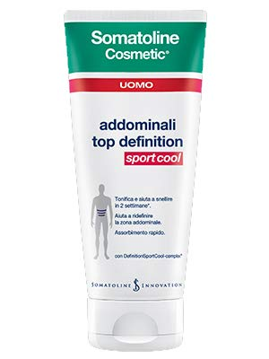 Somatoline Cosmetic Uomo Addominali Top Definition Sport Cool - 200 ml