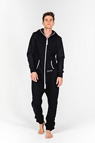 Moniz Herren Jumpsuit, schwarz - 4