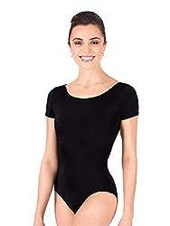 Theatricals Adult Short Sleeve Dance Leotard D5102