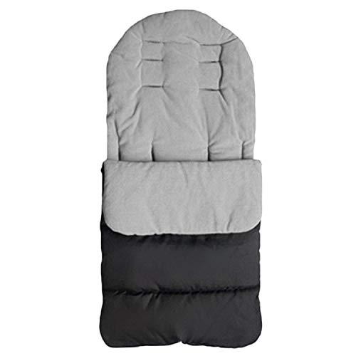 Universal Winter Waterproof Warm Stroller Saco de Dormir Saco de Dormir Cojines para bebés recién Nacidos Bebé Niño pequeño Gris