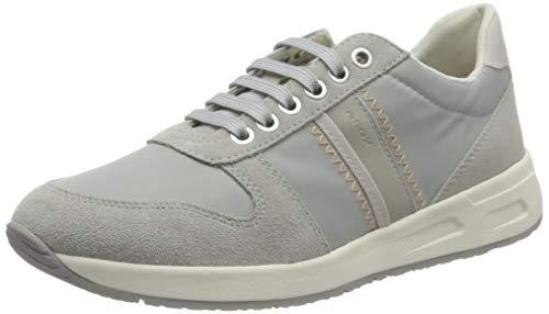 Geox D BULMYA A, Zapatillas Mujer, Color Gris, 36 EU