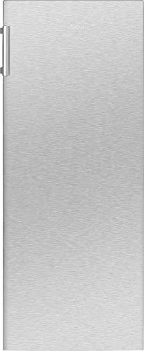Bomann Gefrierschrank GS 7317.1 / 4 Sterne Gefrierraum / wechselbarer Türanschlag / Nutzinhalt: 165 Liter / inox