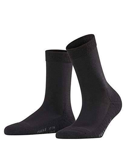 FALKE Damen Socken Wool Balance - Merinowollmischung, 1 Paar, Schwarz (Black 3009), Größe: 37-38