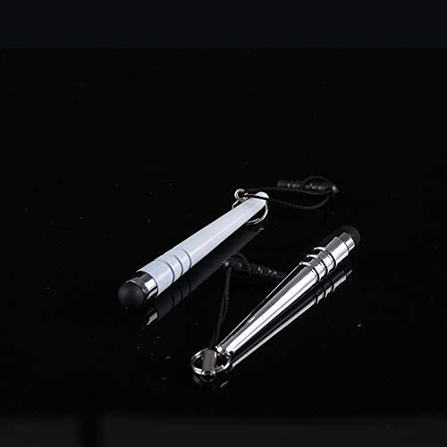 Yizhet 10x mini universal Stylus Stift Touch Pen Eingabestift Touchstift für iPhone iPad Samsung und alle Smartphone Handy Tablet mit kapazitiven Touchscreen
