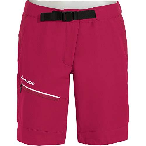 VAUDE Damen Hose Women's Tekoa Shorts II, crimson red, 40, 41907
