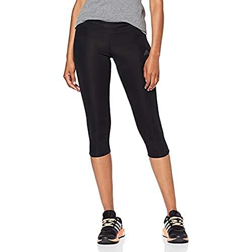adidas Own The Run Tgt Mallas, Mujer, Black, XS