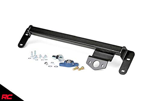 Rough Country Steering Brace (fits) 2009-2016 Ram Truck 2500 3500 | Supports Sector Shaft | Tighter Steering | 1066