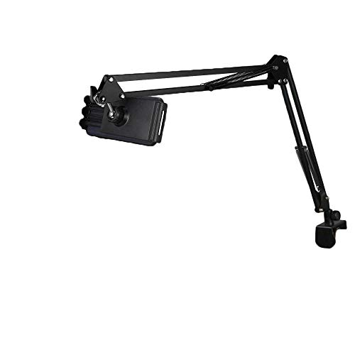 Adjustable 360 Degree Rotating Bed Tablet Mount Holder Stand Compatible with Ipad Pro 12-18 cm ,ipad Air,ipad Mini , Tablets